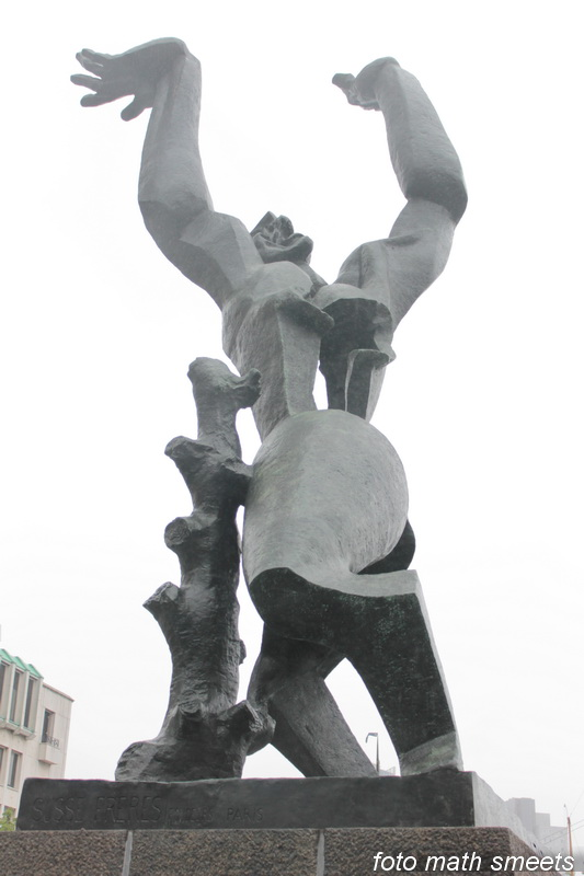 De Verwoeste Stad van Ossip Zadkine