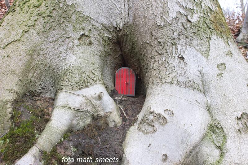 ik heb even op de deur geklopt, maar er was blijkbaar niemand thuis