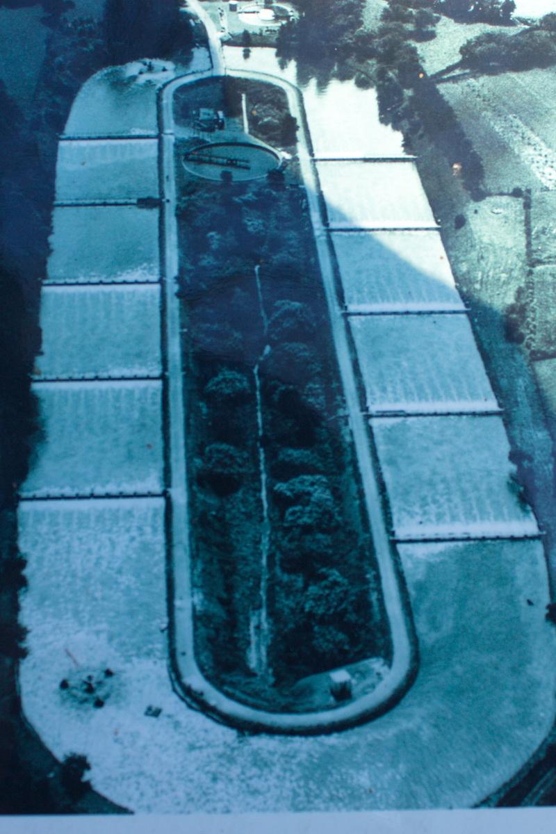in de jaren 60 had DSM een waterzuiveringsinstallatie gebouwd, de Pasveersloot