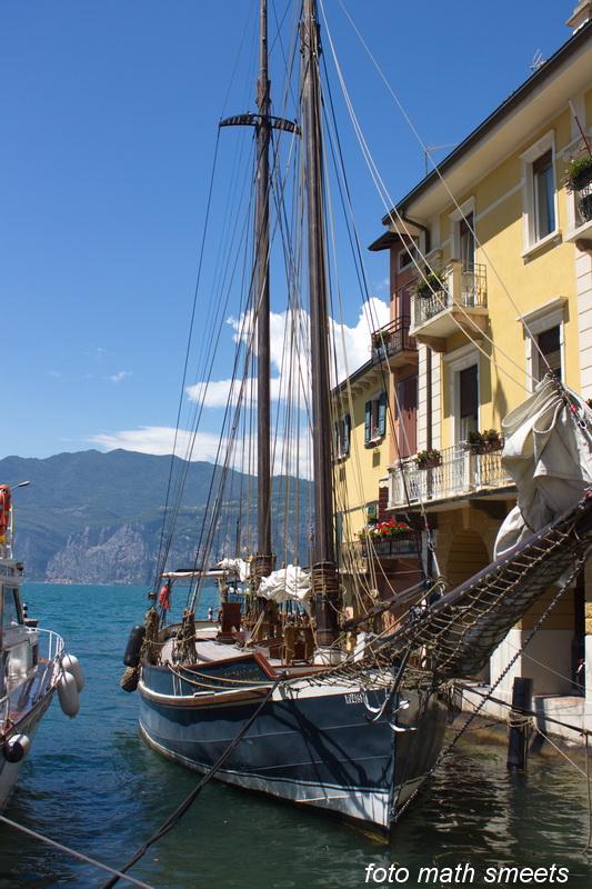 Malcesine, klein dorpje aan het Lago di Garda
