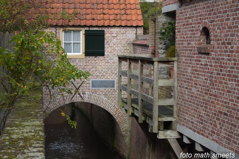 de Dieze stroomt gedeeltelijk onder de stad door